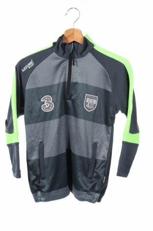Детска спортна блуза Azzurri, Размер 7-8y/ 128-134 см, Цвят Син, Полиестер, Цена 36,75лв.