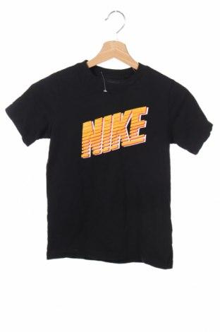 Tricou de copii Nike, Mărime 9-10y/ 140-146 cm, Culoare Negru, 100% bumbac, Preț 41,98 Lei