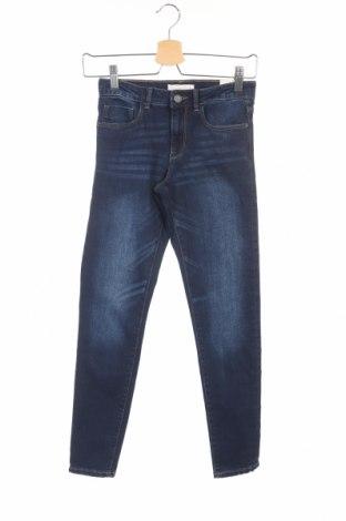Dětské džíny  Zara, Rozměr 8-9y/ 134-140 cm, Barva Modrá, 70% bavlna, 28% polyester, 2% elastan, Cena  147,00Kč