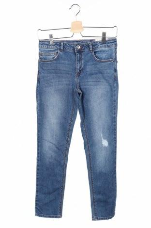 Παιδικά τζίν Zara Kids, Μέγεθος 11-12y/ 152-158 εκ., Χρώμα Μπλέ, 95% βαμβάκι, 3% πολυεστέρας, 2% ελαστάνη, Τιμή 4,49€