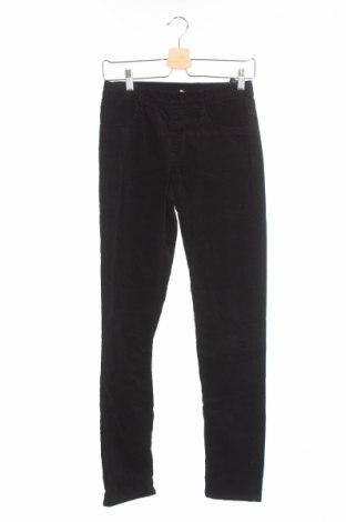 Детски панталон H&M, Размер 15-18y/ 170-176 см, Цвят Черен, 98% памук, 2% еластан, Цена 4,75лв.