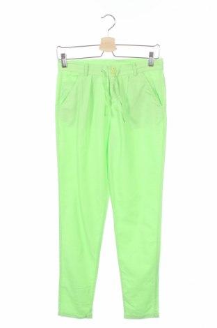 Detské nohavice  Inside, Veľkosť 11-12y/ 152-158 cm, Farba Zelená, 75% bavlna, 25% viskóza, Cena  4,76€