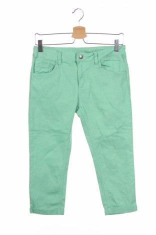 Pantaloni de copii Kids, Mărime 12-13y/ 158-164 cm, Culoare Verde, 99% bumbac, 1% elastan, Preț 16,58 Lei