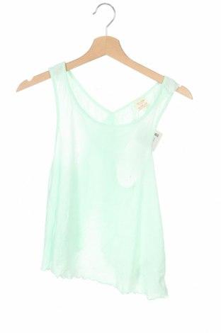 Детски потник Zara Kids, Размер 11-12y/ 152-158 см, Цвят Зелен, 60% памук, 40% полиестер, Цена 7,59лв.