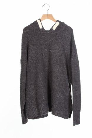Детски суичър Zara Knitwear, Размер 12-13y/ 158-164 см, Цвят Сив, 75% акрил, 22% полиестер, 3% еластан, Цена 16,10лв.