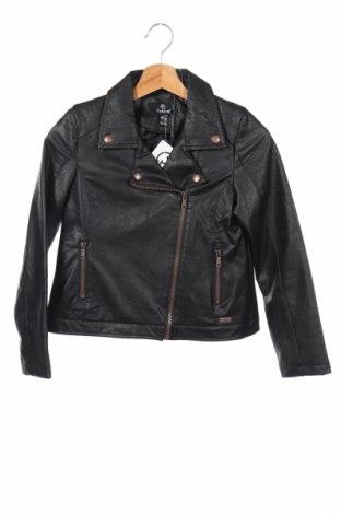 Dětská kožená bunda  Firetrap, Rozměr 9-10y/ 140-146 cm, Barva Černá, Eko kůže, Cena  401,00Kč
