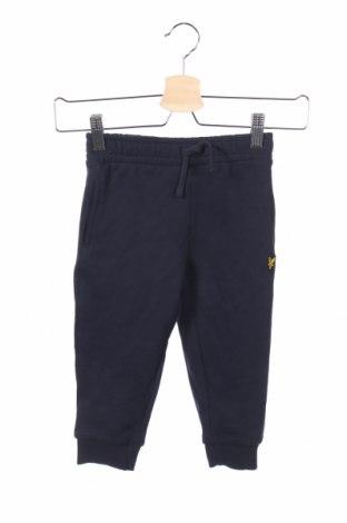 Detské tepláky Lyle & Scott, Veľkosť 18-24m/ 86-98 cm, Farba Modrá, 85% bavlna, 15% polyester, Cena  10,39€