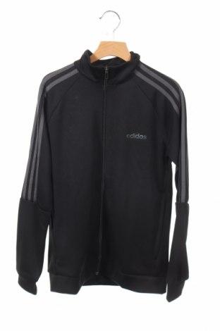 Dziecięca sportowa bluza Adidas, Rozmiar 11-12y/ 152-158 cm, Kolor Czarny, Poliester, Cena 59,00zł