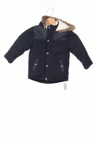 Детско яке Dunnes, Размер 18-24m/ 86-98 см, Цвят Син, 62% памук, 38% полиестер, Цена 62,56лв.