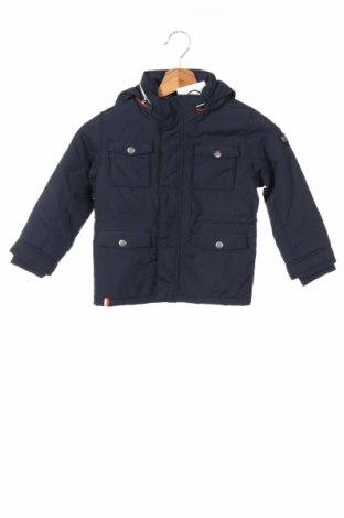 Детско яке H&M, Размер 2-3y/ 98-104 см, Цвят Син, Полиамид, Цена 40,32лв.