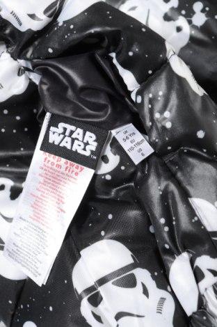 Детско яке Star Wars, Размер 4-5y/ 110-116 см, Цвят Черен, Полиестер, Цена 62,56лв.