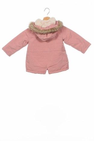 Детско яке Zara, Размер 2-3y/ 98-104 см, Цвят Розов, 100% полиестер, Цена 51,92лв.