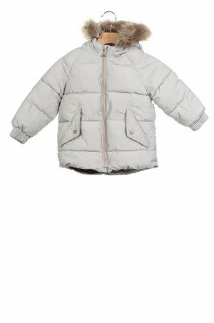 Детско яке Zara, Размер 2-3y/ 98-104 см, Цвят Сив, Полиестер, Цена 69,00лв.