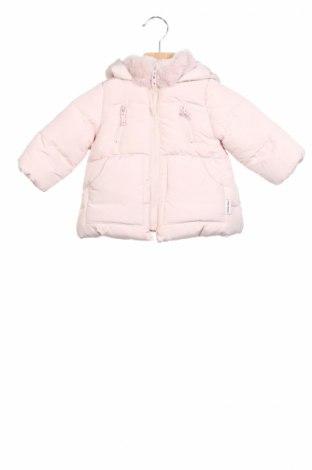 Детско яке Zara, Размер 3-6m/ 62-68 см, Цвят Розов, Полиестер, Цена 66,24лв.