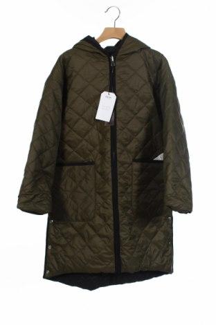 Детско яке Zara Kids, Размер 8-9y/ 134-140 см, Цвят Зелен, 100% полиамид, Цена 63,48лв.