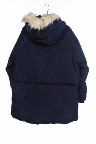 Детско яке Zara Kids, Размер 9-10y/ 140-146 см, Цвят Син, Полиестер, пух и пера, Цена 57,96лв.