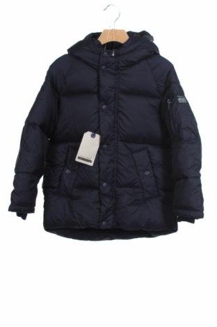 Детско яке Zara Kids, Размер 7-8y/ 128-134 см, Цвят Син, Полиестер, Цена 79,00лв.