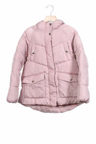 Детско яке Zara Kids, Размер 9-10y/ 140-146 см, Цвят Розов, Полиестер, Цена 66,24лв.