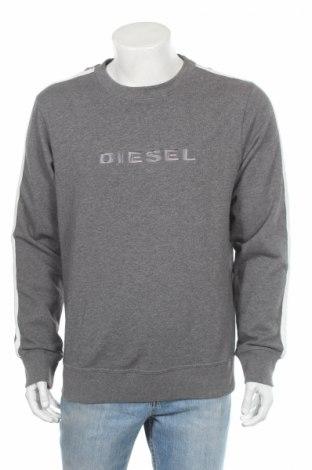 Pánske tričko  Diesel, Veľkosť L, Farba Sivá, 80% bavlna, 20% polyester, Cena  26,38€