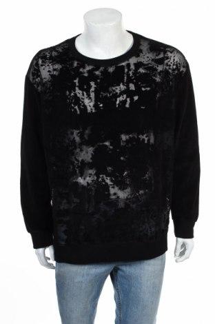 Ανδρική μπλούζα Zara, Μέγεθος XL, Χρώμα Μαύρο, 50% βαμβάκι, 50% πολυεστέρας, Τιμή 6,97€