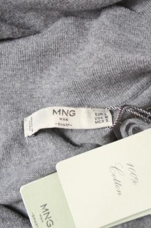 Мъжка жилетка Mango, Размер L, Цвят Сив, Памук, Цена 19,60лв.