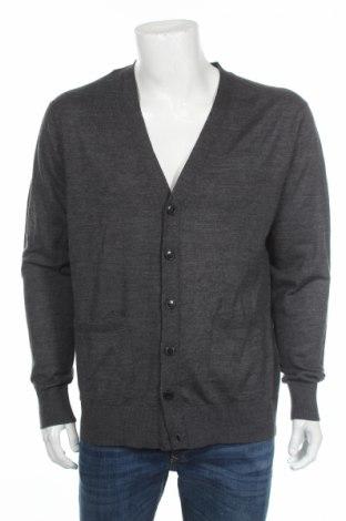 Мъжка жилетка Zara, Размер XL, Цвят Сив, 50% акрил, 50% вълна, Цена 30,72лв.