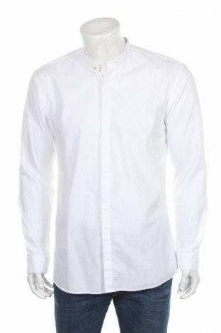 Ανδρικό πουκάμισο Hugo Boss, Μέγεθος L, Χρώμα Λευκό, 100% βαμβάκι, Τιμή 44,29€