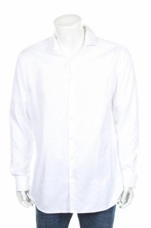 Мъжка риза Jake*s, Размер XL, Цвят Бял, Памук, Цена 16,10лв.