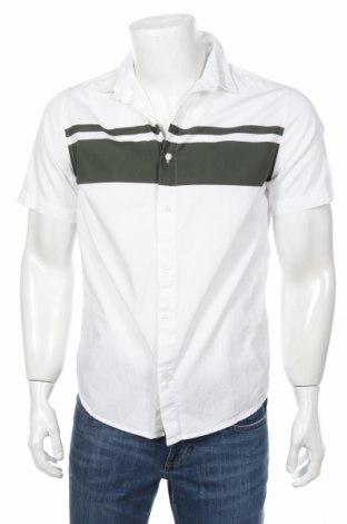 Мъжка риза Only & Sons, Размер M, Цвят Бял, Памук, Цена 26,40лв.
