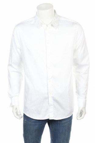 Ανδρικό πουκάμισο Zara Man, Μέγεθος XL, Χρώμα Λευκό, Βαμβάκι, Τιμή 13,68€