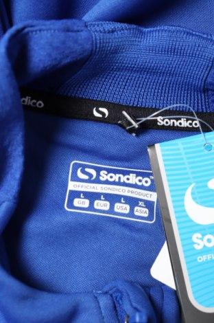 Мъжка спортна блуза Sondico, Размер L, Цвят Син, Полиестер, Цена 13,80лв.