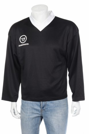 Мъжка спортна блуза Warrior, Размер S, Цвят Черен, Полиестер, Цена 10,20лв.
