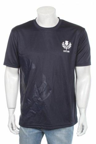 Мъжка тениска, Размер L, Цвят Син, Полиестер, Цена 18,00лв.