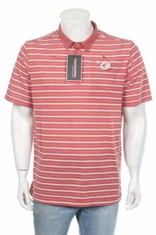 Мъжка тениска Craghoppers, Размер XL, Цвят Червен, 64% полиестер, 36% памук, Цена 17,50лв.