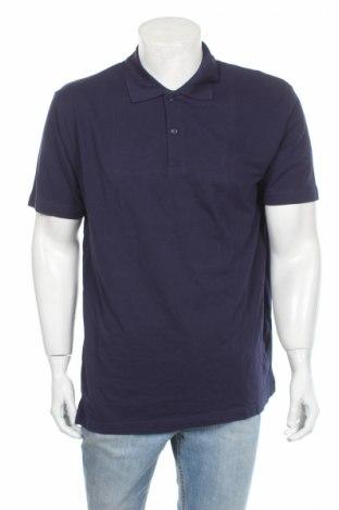 Pánske tričko  Donnay, Veľkosť XL, Farba Modrá, Bavlna, Cena  6,20€