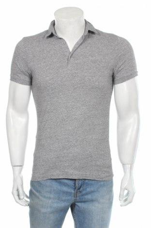 Tricou de bărbați H&M, Mărime S, Culoare Gri, 95% bumbac, 5% elastan, Preț 22,38 Lei
