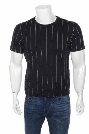 Ανδρικό t-shirt Zara, Μέγεθος S, Χρώμα Μαύρο, Βαμβάκι, Τιμή 9,72€