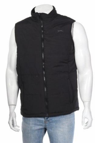 Мъжки елек Slazenger, Размер S, Цвят Черен, Полиестер, Цена 31,05лв.