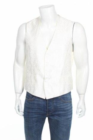 Мъжки елек Wilvorst, Размер L, Цвят Бял, 60% полиестер, 40% вискоза, Цена 35,55лв.