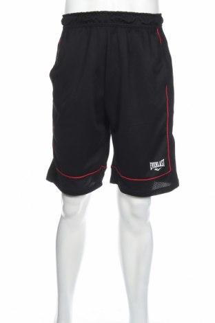 Мъжки къс панталон Everlast, Размер S, Цвят Черен, 100% полиестер, Цена 24,00лв.