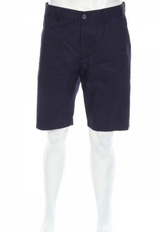 Pantaloni scurți de bărbați H&M, Mărime L, Culoare Albastru, Bumbac, Preț 46,55 Lei