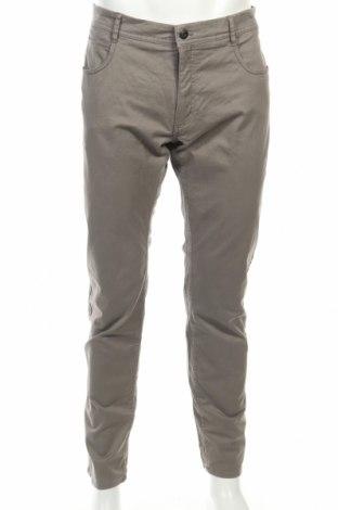 Мъжки панталон Mango, Размер L, Цвят Сив, 98% памук, 2% еластан, Цена 20,40лв.