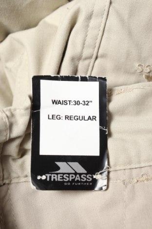 Мъжки спортен панталон Trespass, Размер S, Цвят Бежов, 65% полиестер, 35% памук, Цена 26,40лв.