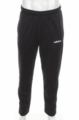 Pantaloni trening de bărbați Adidas, Mărime M, Culoare Negru, 100% poliester, Preț 149,68 Lei