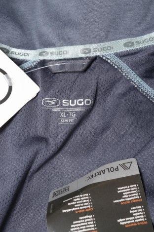 Мъжко спортно горнище Sugoi, Размер XL, Цвят Син, Полиамид, Цена 35,80лв.
