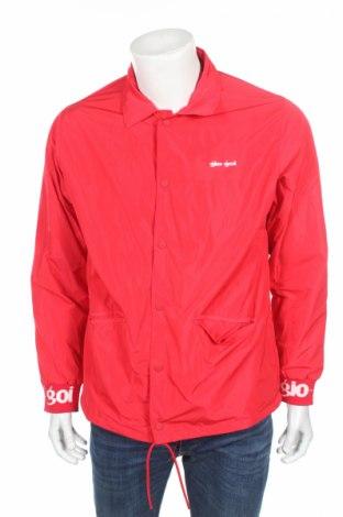 Мъжко спортно яке Gio Goi, Размер M, Цвят Червен, 100% полиестер, Цена 26,60лв.