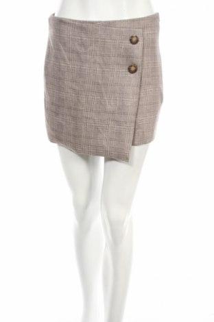 Sukně- kalhoty  Zara, Rozměr S, Barva Béžová, 95% polyester, 5% elastan, Cena  213,00Kč