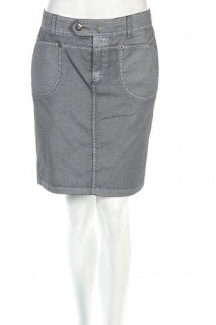 Φούστα Carla Du Nord, Μέγεθος S, Χρώμα Γκρί, 97% βαμβάκι, 3% ελαστάνη, Τιμή 3,22€