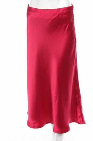 Пола Zara, Размер M, Цвят Розов, Полиестер, Цена 29,25лв.