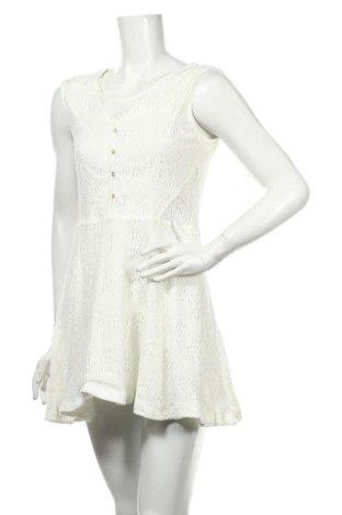 Рокля Yes Or No, Размер M, Цвят Бял, 80% памук, 20% полиамид, Цена 7,35лв.